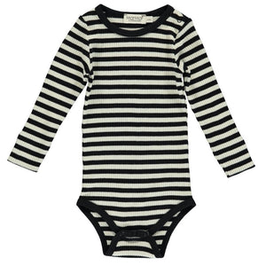 Modal body, Black/Off White Stripe