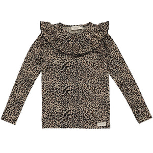 Tessie blusa, Brown Leo