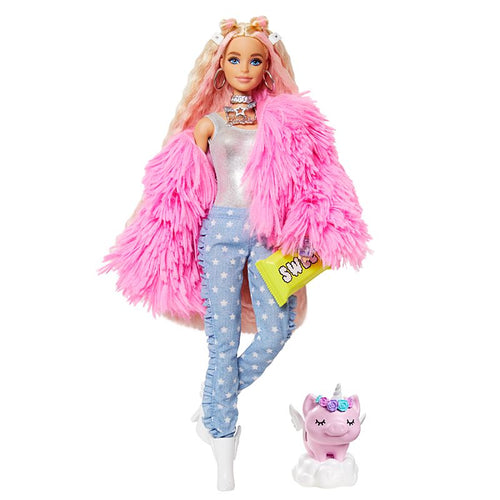 Barbie Extra, Fluffy Pink