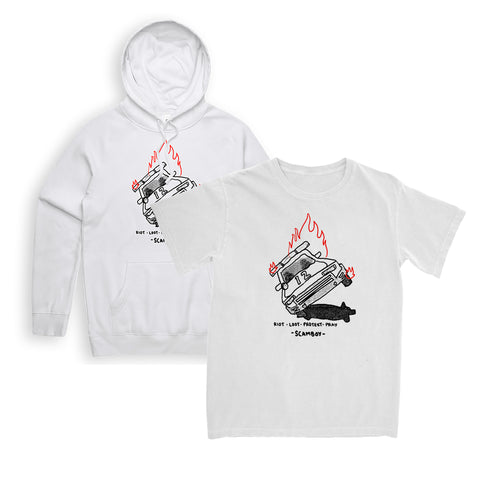 (FOR WHITE PEOPLE TO WEAR) TEE/HOODIE