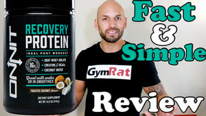 Onnit Supplements: Recovery Protein Review