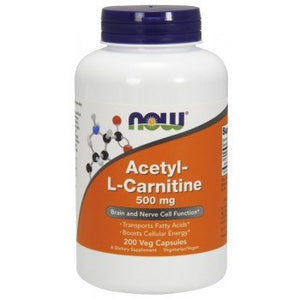 NOW Acetyl L-Carnitine 500mg Supplement