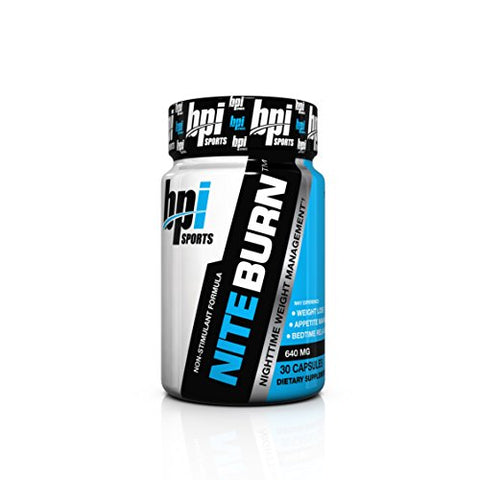 BPI Sports Nite Burn Nighttime Supplement
