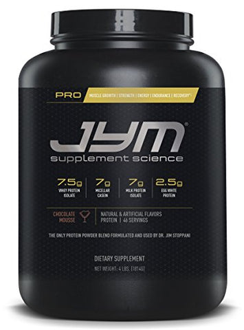 JYM Protein Blend with Whey, Casein and Egg Proteins