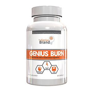GENIUS FAT BURNER - Thermogenic Weight Loss Supplement