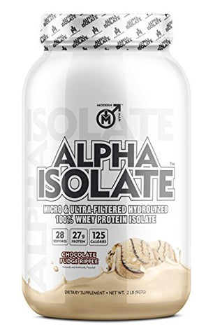 ALPHA Isolate Protein Supplement by Modern Man