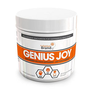 Genius Joy - Serotonin Mood Booster for Anxiety Relief