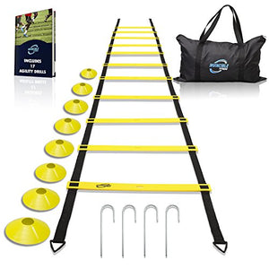 Invincible Fitness Agility Ladder Training Equipment