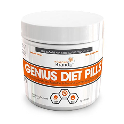 GENIUS DIET PILLS - The Smart Appetite Suppressant for Safe Weight Loss