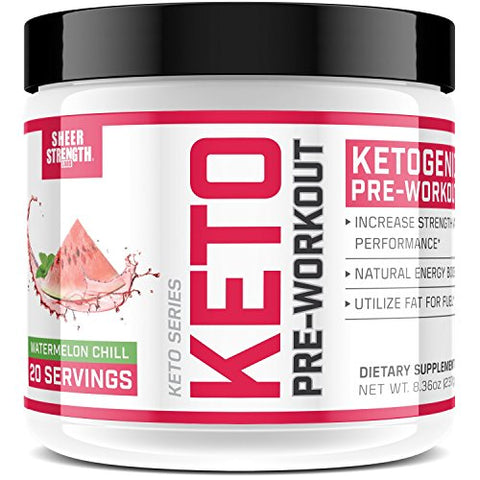 Sheer Strength Labs Ketogenic Pre Workout Supplement