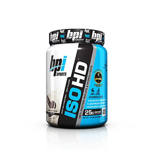 BPI Sports ISO HD 100% Protein Isolate Supplement