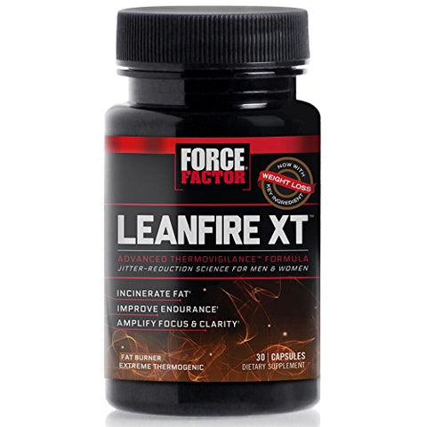 Force Factor LeanFire XT Thermogenic Fat Burner