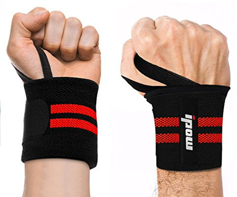 "Ipow Adjustable 18.5"" Weight Lifting Training Wrist Straps"