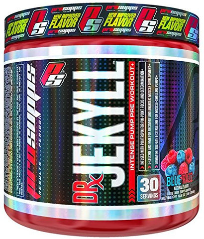 ProSupps Dr Jekyll Intense Pump Pre Workout Supplement