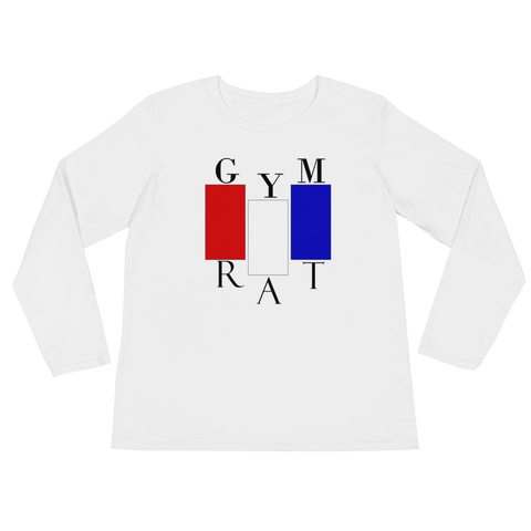 Gym Rat - Women's Blocked Out Long Sleeve Shirt