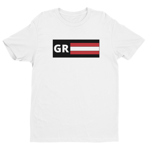 I Am A Gym Rat - GR Stripe Short Sleeve T-shirt