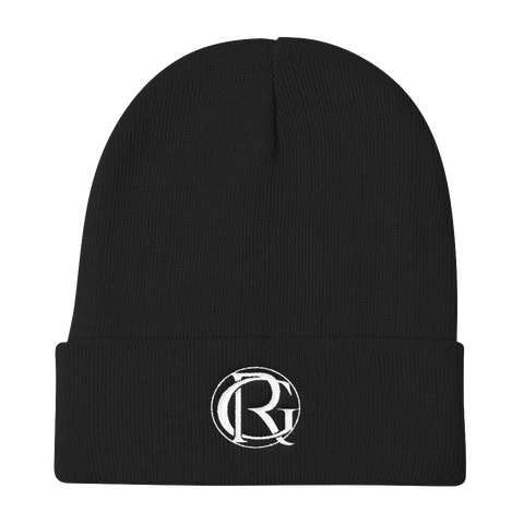 Gym Rat - White Out GR Beanie