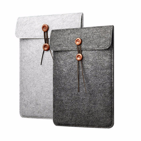 FORTIFY - Luxury woolfelt protective laptop sleeve