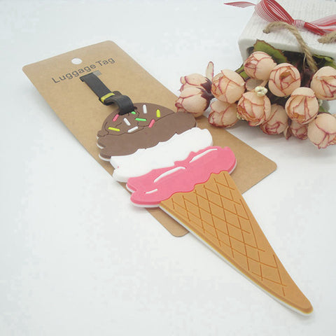 ICE-CREAM  Luggage Tag