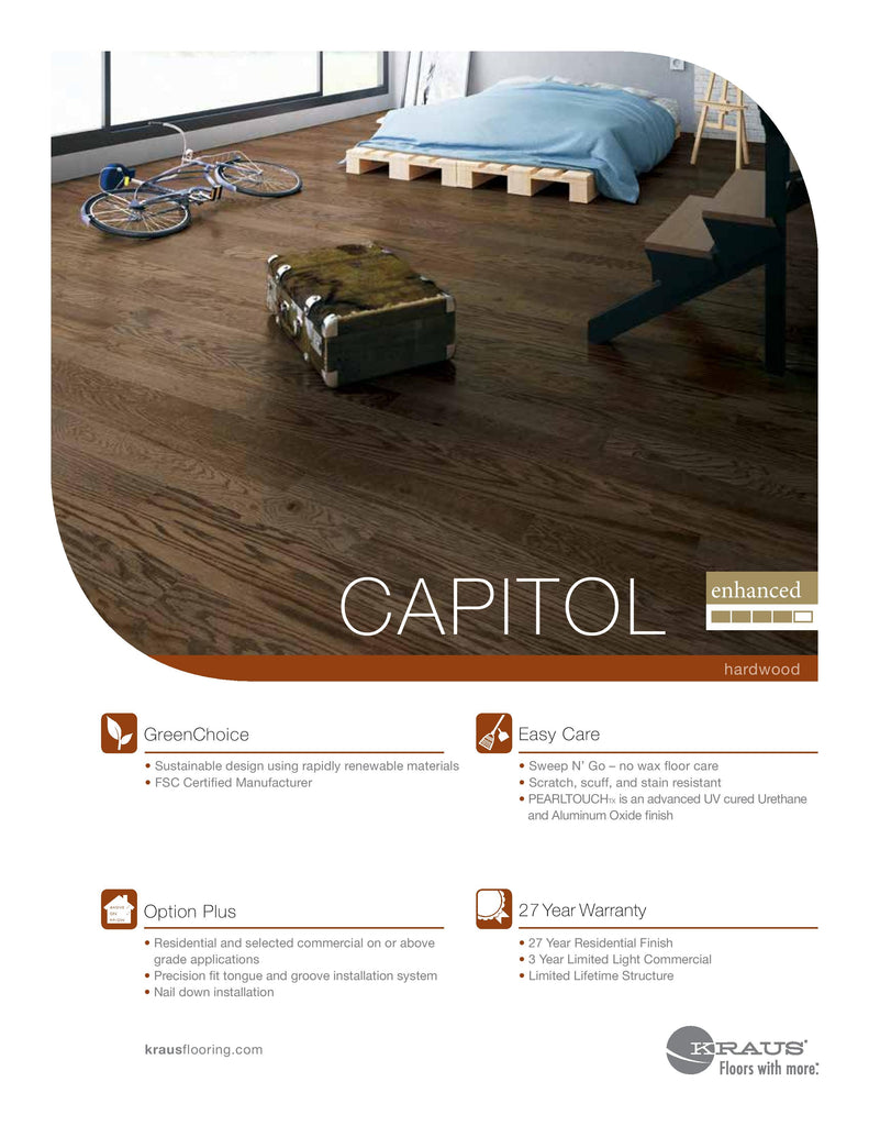 KRAUS CAPITOL COLLECTION SOLID WOOD