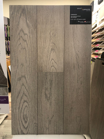 BRANDING SURFACE T&G ENGINEERED OAK COBBLESTONE