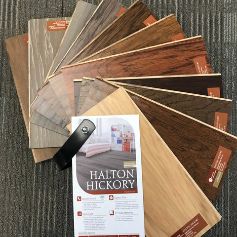 KRAUS HALTON HICKORY COLLECTION ENGINEERED HARDWOOD