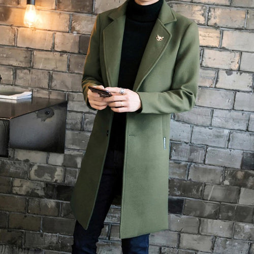 Contemporary Trench Coat