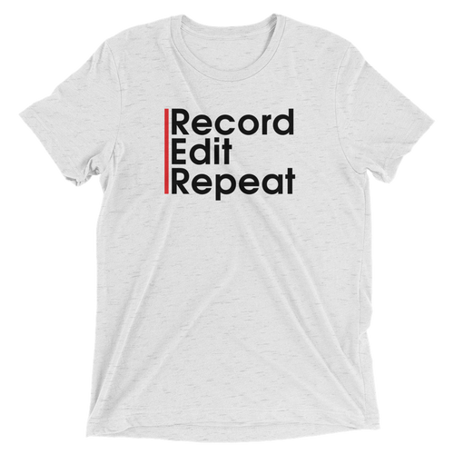 Rec Edit Repeat T-shirt