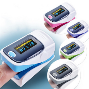 PulOxy™ Fingertip Pulse Oximeter - Blood Oxygen Monitor