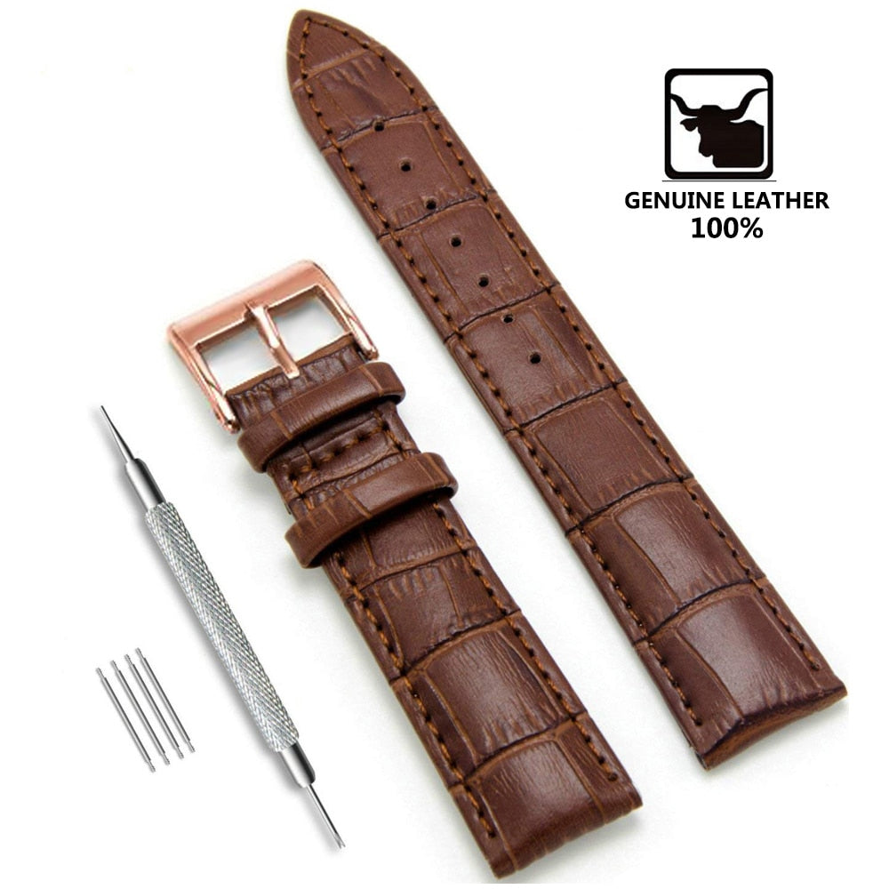 Genuine Leather Watchbands - MW Company