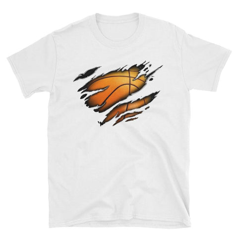 Basketball Heart T-Shirt - Hoops Freak