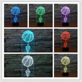 Freestyle Basketball Color Changing 3d Lamp - Hoops Freak
