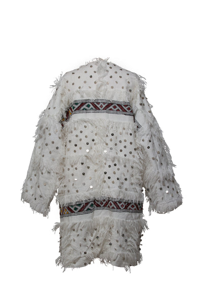White Handra Coat