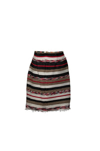 Striped Azrou Skirt