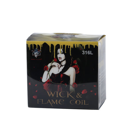 Demon Killer Wick & Flame Pre-built coils