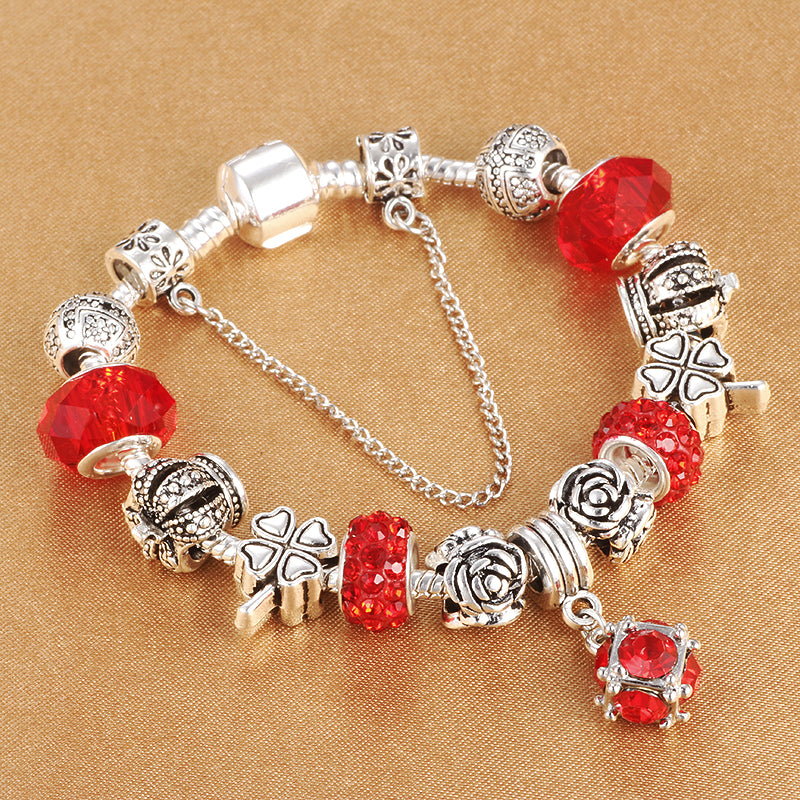 Crystal Beads Beaded Bracelet - giftsvistas.com