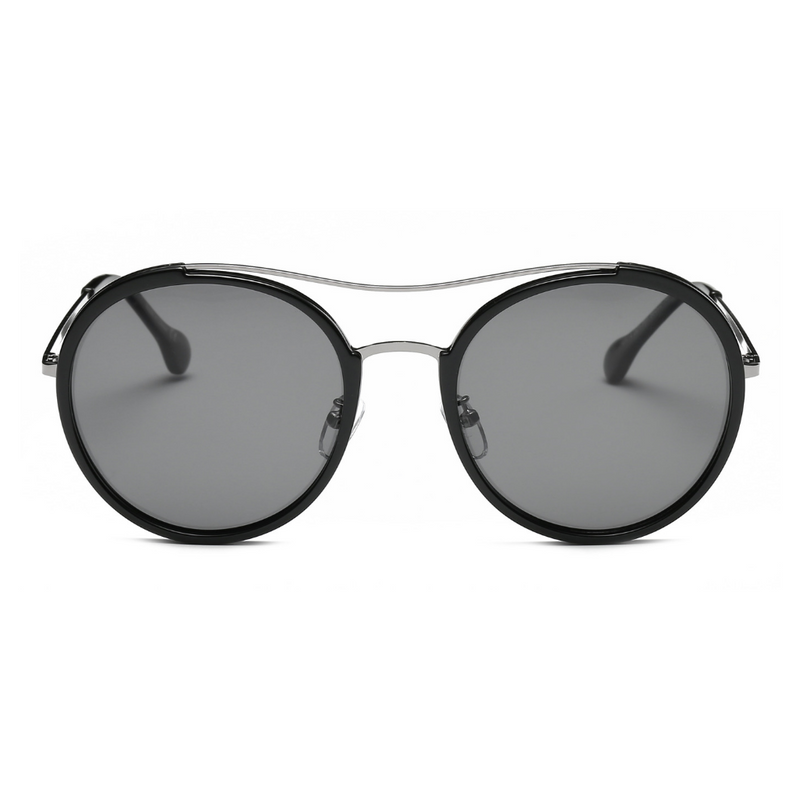 Unisex Polarized Round Fashion Sunglasses - giftsvistas.com