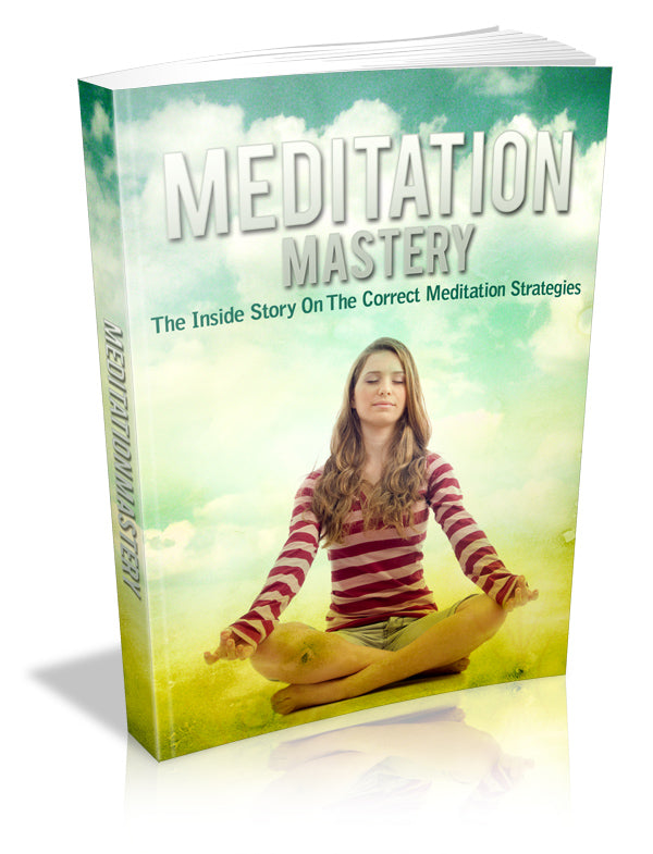 Meditation mastery ebook
