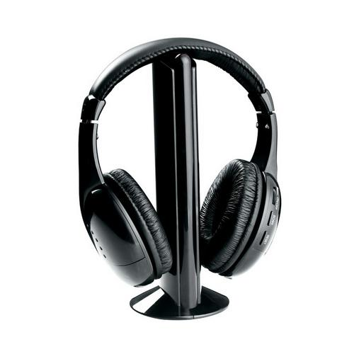 Naxa NE-922 Professional 5 In 1 Wireless Headphone System - giftsvistas.com