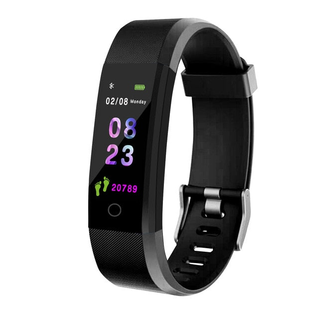 Smart watch with blood pressure monitor - giftsvistas.com