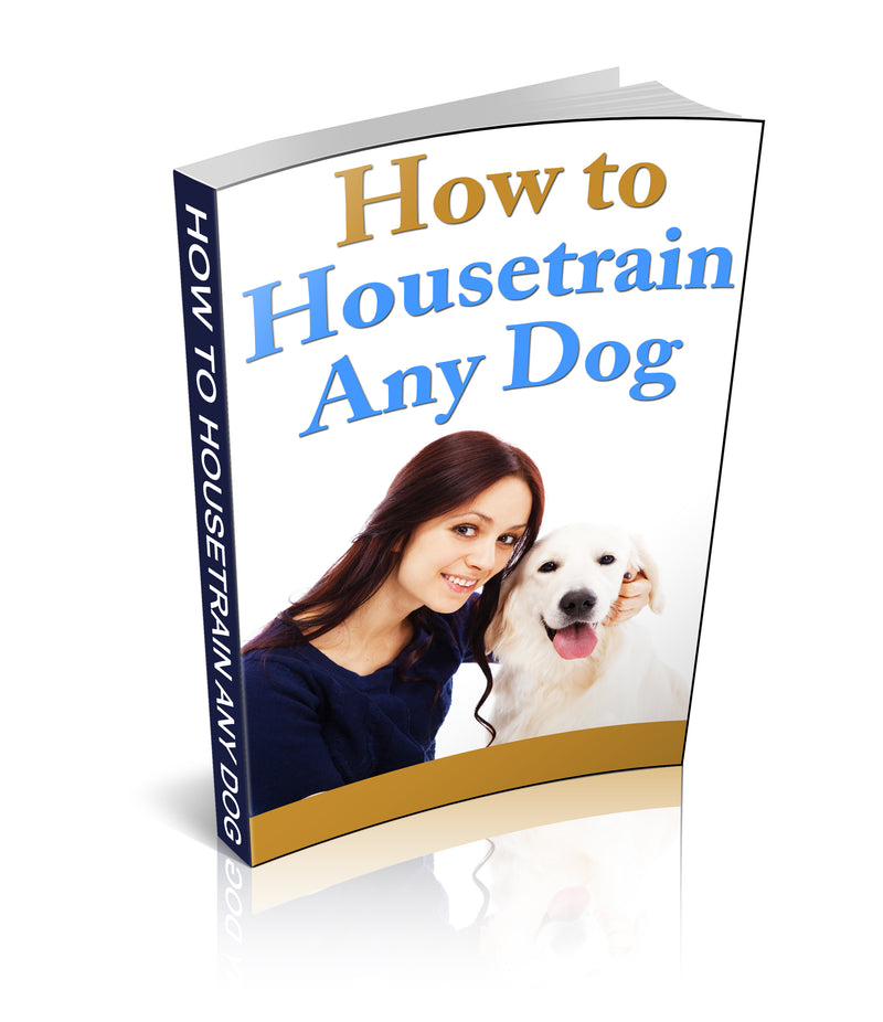 How to housetrain any dog eBook