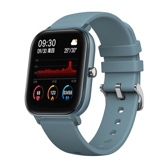 Smart Watch Fitness Tracker & Blood Pressure Monitor - giftsvistas.com