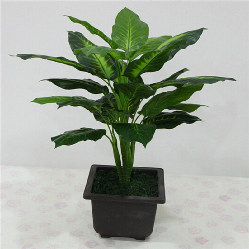 Large 50CM Evergreen Artificial Plant - giftsvistas.com