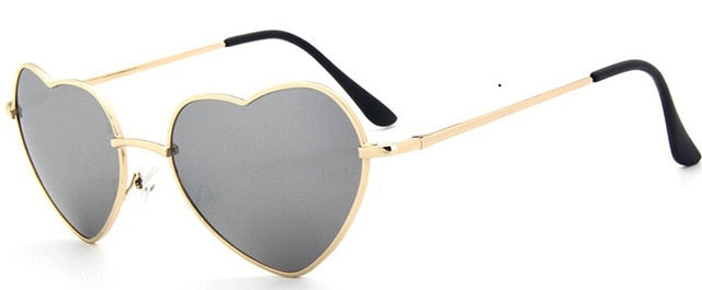 Women's Heart Shaped Sunglasses - giftsvistas.com