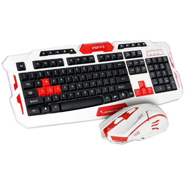 2.4GHz Wireless Gaming Keyboard - giftsvistas.com