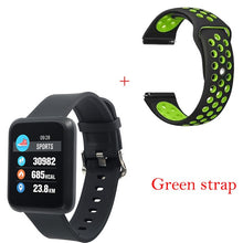 Waterproof Bluetooth Heart Rate Blood Pressure Smartwatch - giftsvistas.com