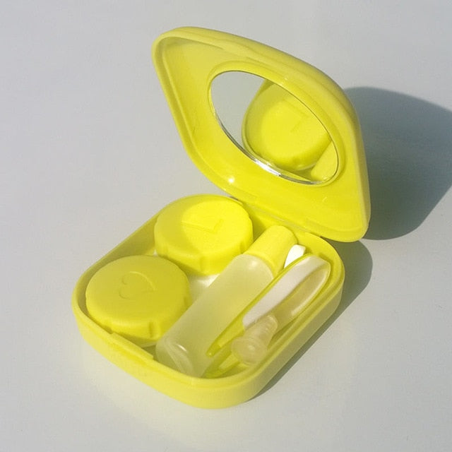 Mini Square Easy Carry Mirror Container Holder - giftsvistas.com