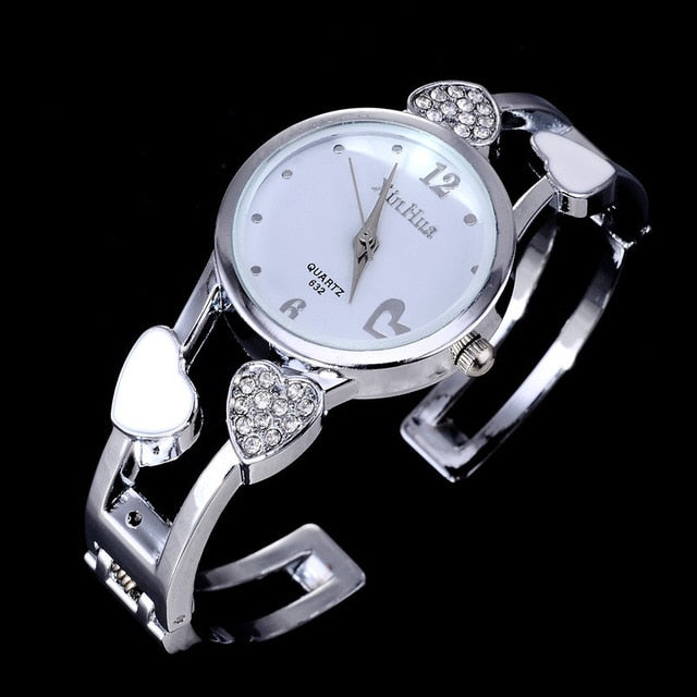 Heart Shape Wristwatches - giftsvistas.com
