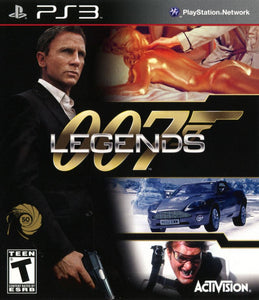 007 Legends Sony Playstation 3 PS3 Video Game