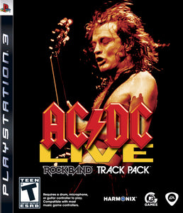 AC/DC Live Rockband Track Pack Sony Playstation 3 PS3 Video Game